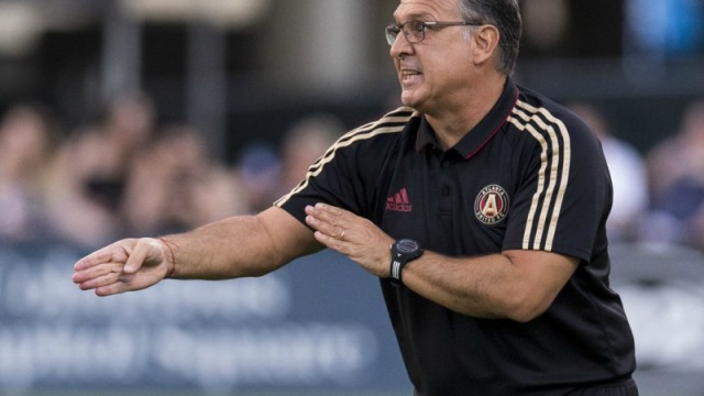 "Atlanta United coach Gerardo ""Tata"" Martino"