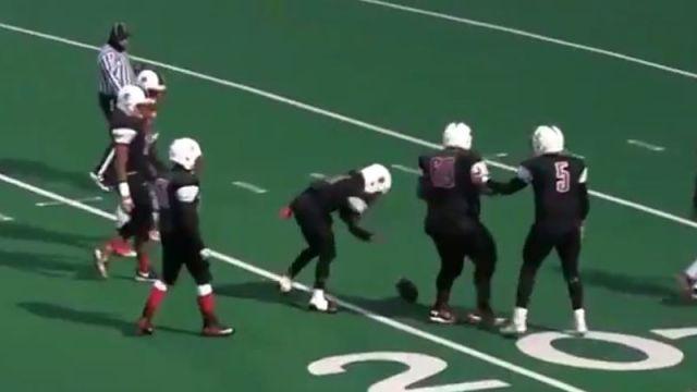 Chicago high school football punt