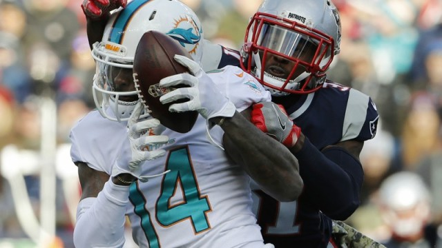 Miami Dolphins wide receiver Jarvis Landry