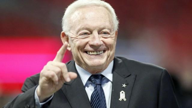 Cowboys owner Jerry Jones