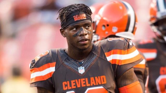 Browns Receiver Josh Gordon