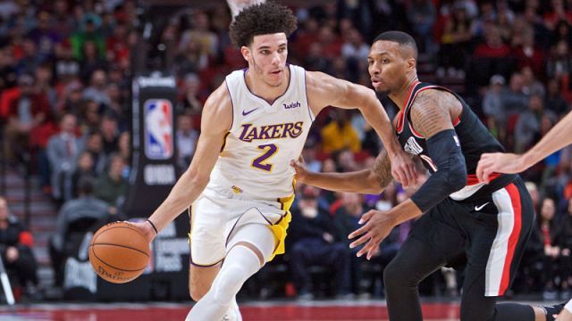 Los Angeles Lakers point guard Lonzo Ball