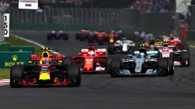 Max Verstappen, Sebastian Vettel, Valtteri Bottas