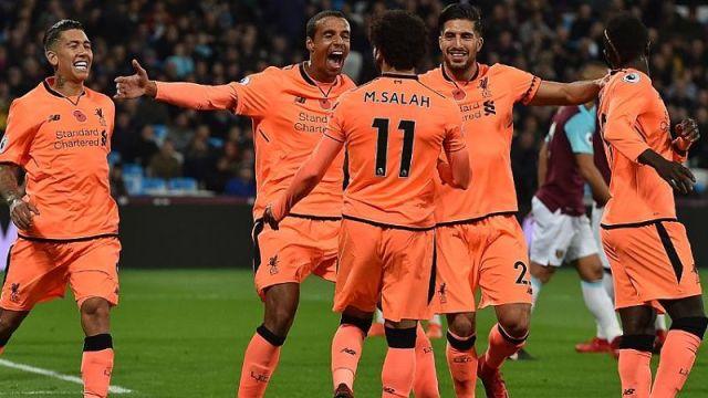 Liverpool F.C. forward Mohamed Salah