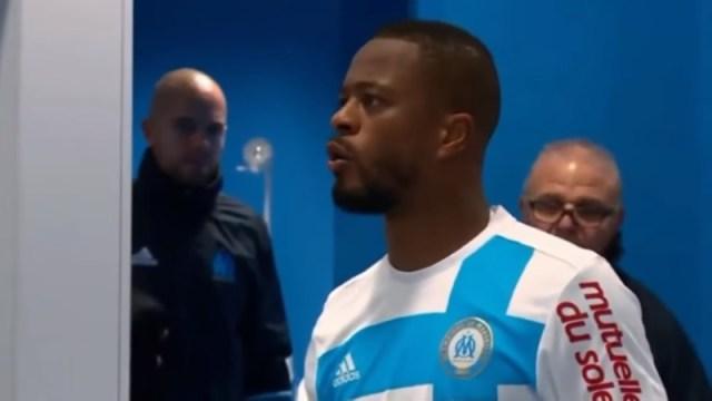 Marseille defender Patrice Evra