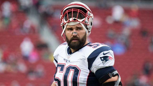 Former New England Patriots defensive end Rob Ninkovich