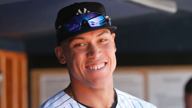 New York Yankees right fielder Aaron Judge