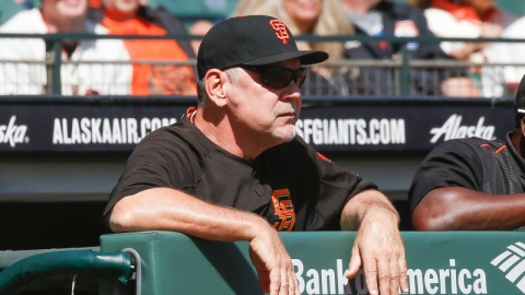 San Francisco Giants manager Bruce Bochy