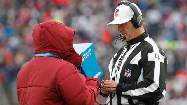 NFL referee Craig Wrolstad