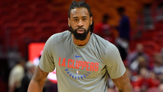 Clippers center DeAndre Jordan