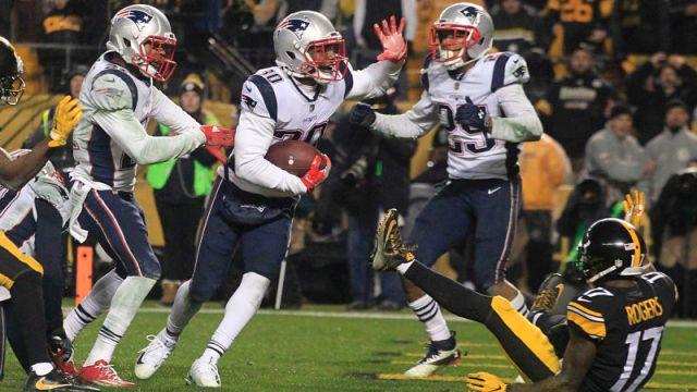 New England Patriots safety Duron Harmon