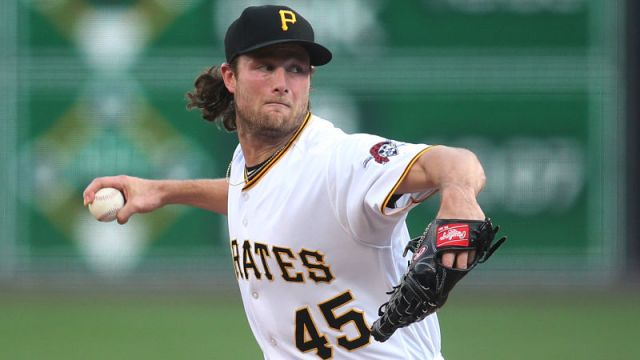 Pittsburgh Pirates pitcher Gerrit Cole