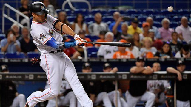 New York Yankees outfielder Giancarlo Stanton