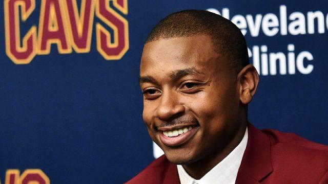 Cleveland Cavaliers guard Isaiah Thomas