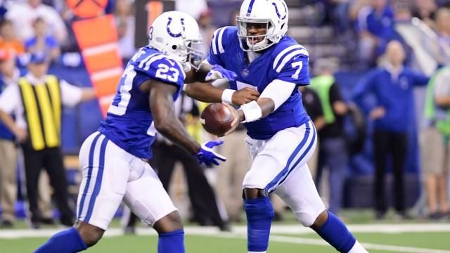 Colts Frank Gore Jacoby Brissett