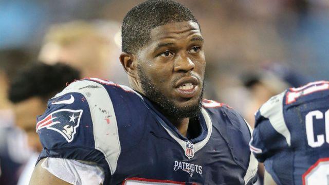 New England Patriots middle linebacker Jonathan Freeny