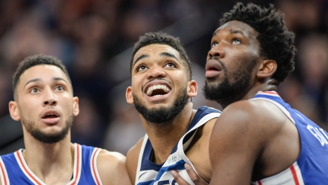 Karl-Anthony Towns defends Joel Embiid