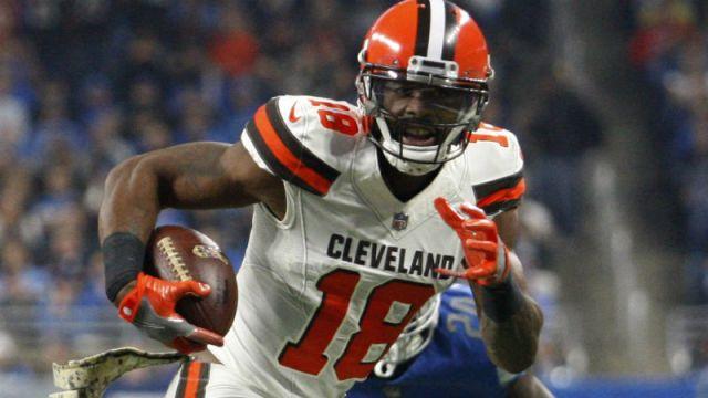 Cleveland Browns wide receiver Kenny Britt