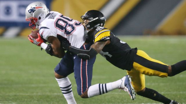 New England Patriots wide receiver Kenny Britt
