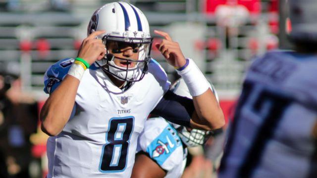 Tennessee Titans quarterback Marcus Mariota