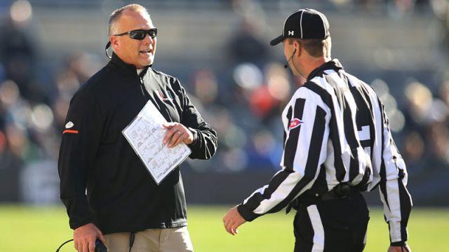 Miami head coach Mark Richt