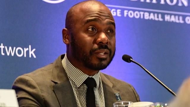 NFL Network analyst Marshall Faulk