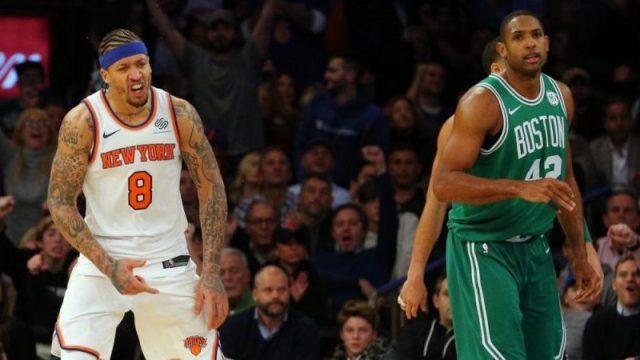 Boston Celtics vs New York Knicks