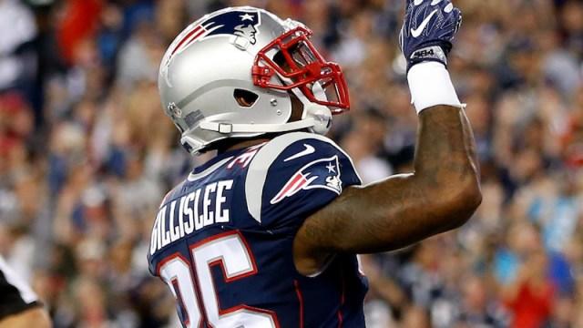 Patriots running back Mike Gillislee