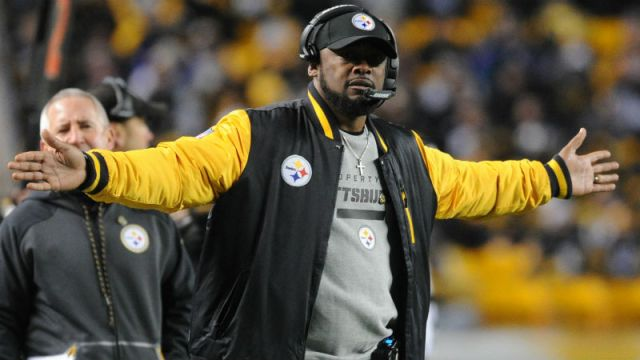 Pittsburgh Steelers head Mike Tomlin