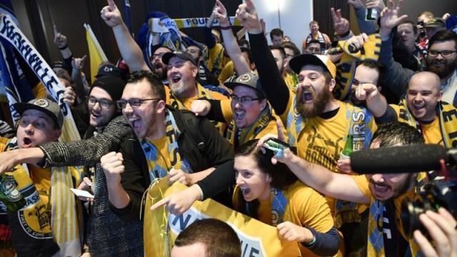 Nashville MLS fans
