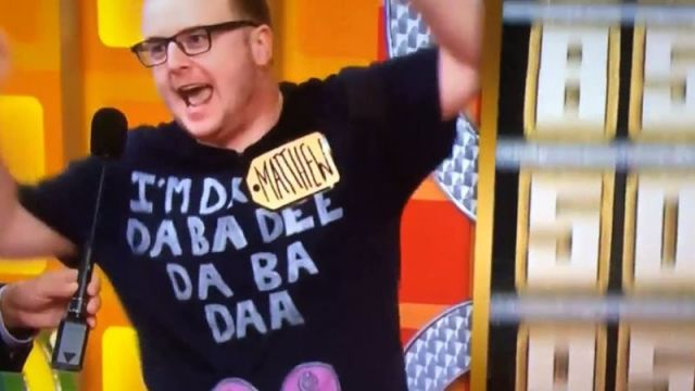 The Price Is Right contestant