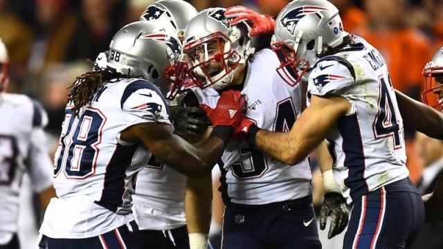 Patriots running back Rex Burkhead