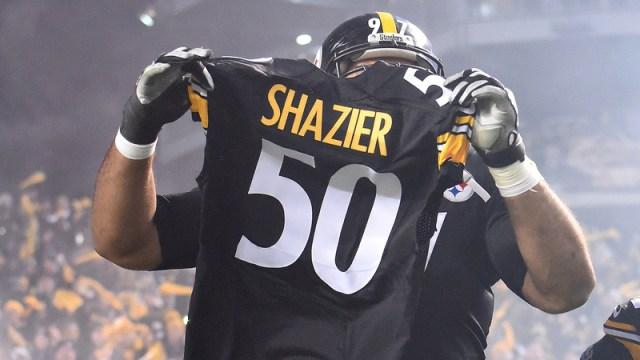 Steelers linebacker Ryan Shazier
