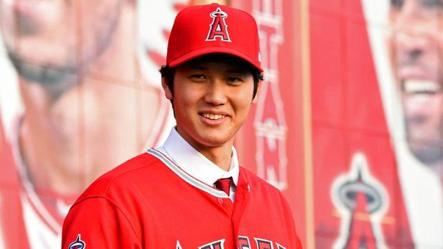 Los Angeles Angels player Shohei Ohtani