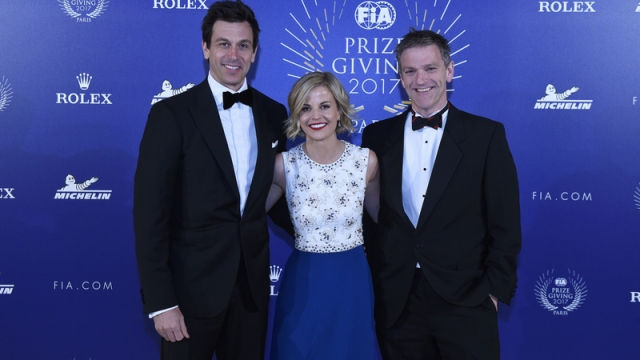 Toto Wolff, Susie Wolff, James Allison