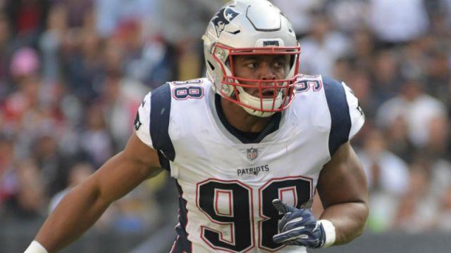 New England Patriots defensive end Trey Flowers