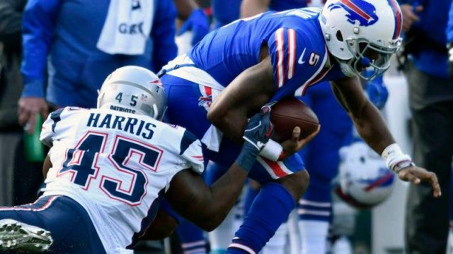 Patriots linebacker David Harris
