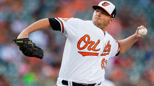 Baltimore Orioles closer Zach Britton
