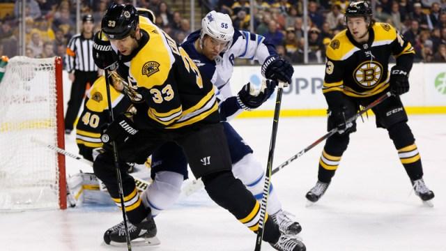Bruins defenseman Zdeno Chara
