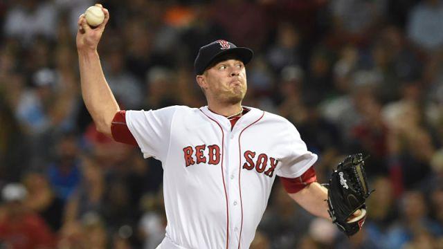 MLB pitcher Addison Reed