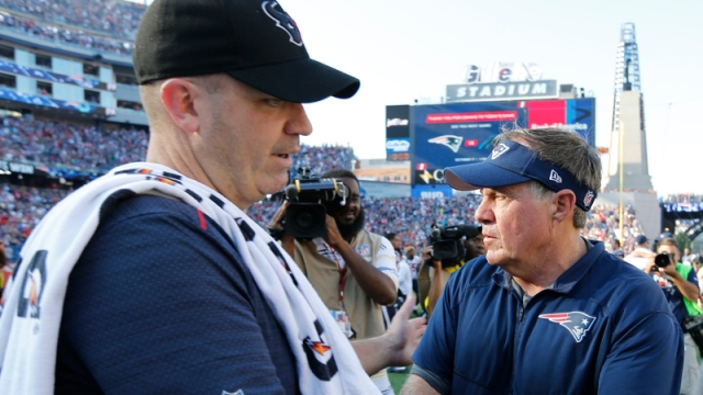 Bill O'Brien and Bill Belichick