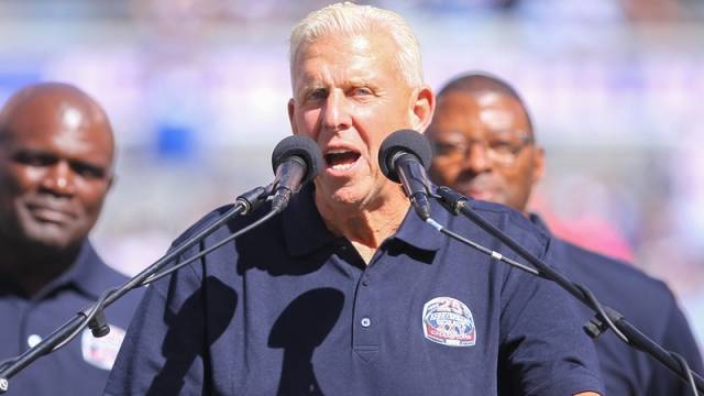 Former NFL coach Bill Parcells
