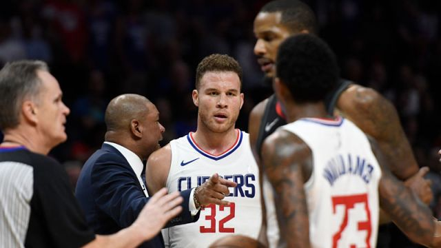 Los Angeles Clippers forward Blake Griffin