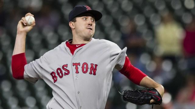 Boston Red Sox reliever Carson Smith