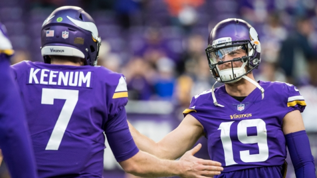 Case Keenum, Adam Thielen