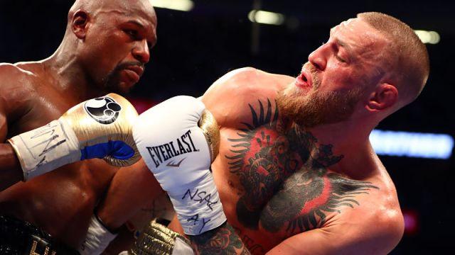 UFC fighter Conor McGregor and boxer Conor McGregor