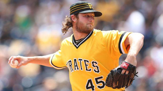 Pittsburgh Pirates pitcher Gerrit Cole