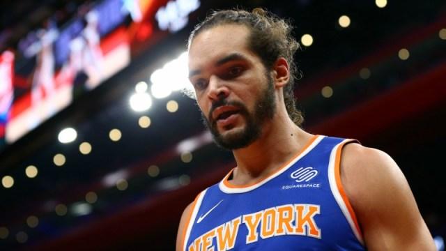 New York Knicks center Joakim Noah