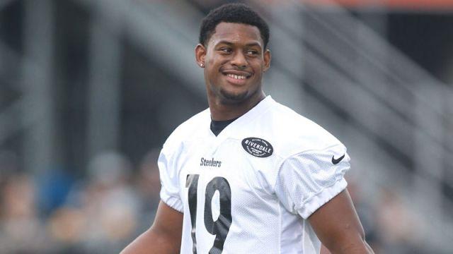 Pittsburgh Steelers wide receiver JuJu Smith-Schsuter