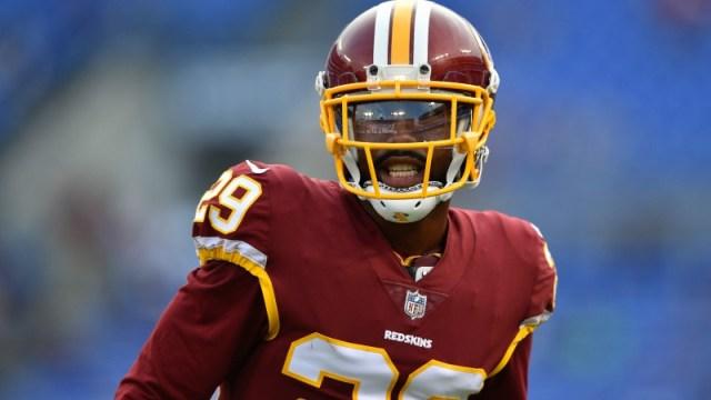 Washington Redskins cornerback Kendall Fuller